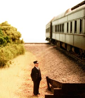 Willoughby Line Model Railroad Conductor