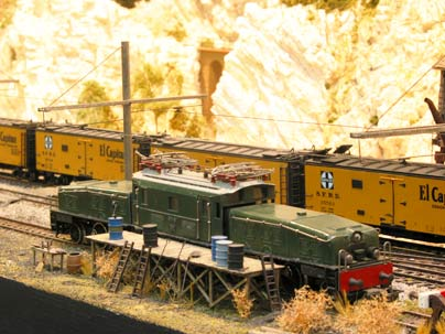 Willoughby Line Model Railroad The old Layout 3