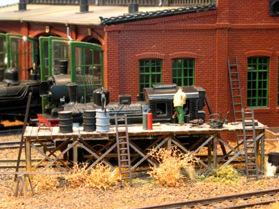 Willoughby Line Model Railroad The Old Layout 1