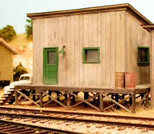 Willoughby Line Model Railroad HHj Station