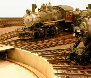 Willoughby Line Model Railroad Turntable
