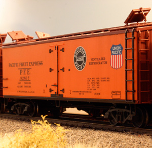 Willoughby Line Model Railroad PFE